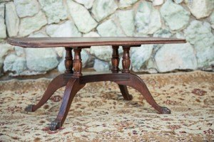 coffee table french antique vintage rental event wedding decor dallas fort worth