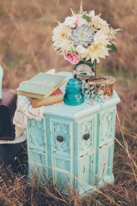 aqua side table cake stand teal mint wedding event furniture rental dallas fort worth