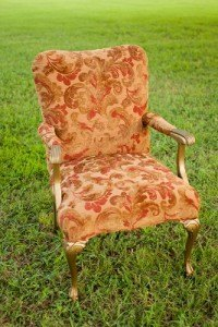 chair bridal antique vintage wedding event rental dallas fort worth gold