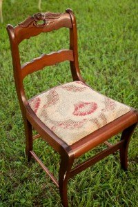 antique chair vintage decor furniture rental dallas fort worth wedding event shabby mismatched